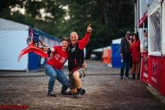 Bielstein , 020721 , ADAC MX Masters  Im Bild: Fans von Jeremy Delince KMP-Honda-Racing beim ADAC MX Masters  Foto: Steve Bauerschmidt