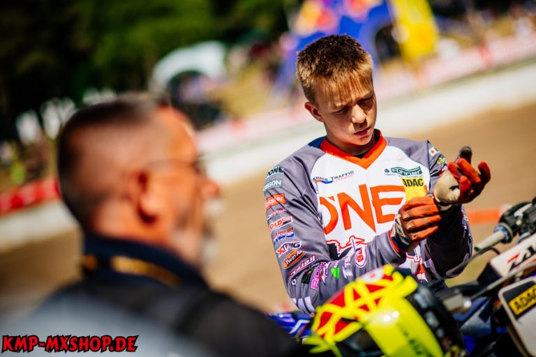 Mölln , 270518 , ADAC MX Masters  Im Bild: Peter König ( Deutschland / KTM / KMP-Honda-Racing / ADAC Berlin Brandenburg ) beim ADAC MX Junior Cup 125  Foto: Steve Bauerschmidt